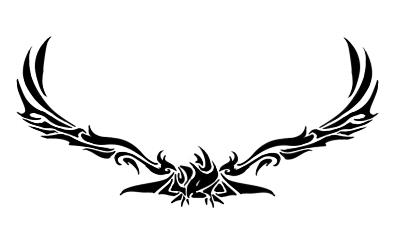 بأخوّتكم عرجتُ السماء ،وبها هوَيت  1422249971-8759613-tribal-predators-vector-illustration-ready-for-vinyl-cutting